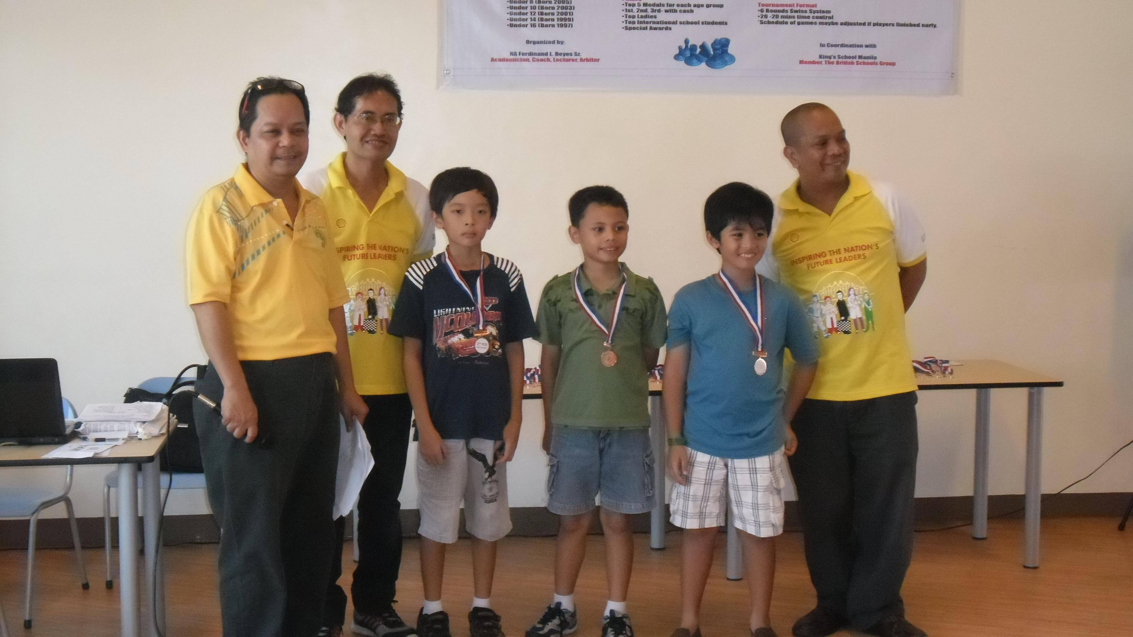 2nd YCS @ King's School Manila, Philippines « Youth Chess